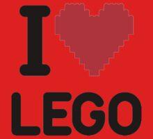 I Love LEGO One Piece - Long Sleeve