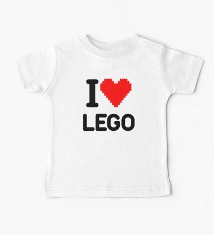 I Love LEGO Baby Tee