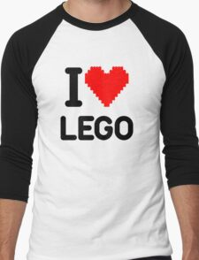 I Love LEGO Men's Baseball ¾ T-Shirt