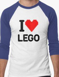 I Love LEGO Men's Baseball ¾ T-Shirt