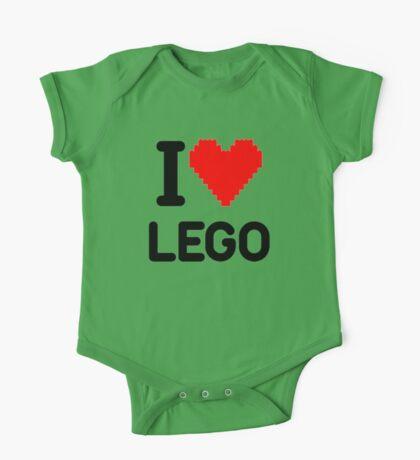 I Love LEGO One Piece - Short Sleeve