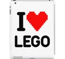 I Love LEGO iPad Case/Skin