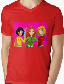 Totally Spies Mens V-Neck T-Shirt