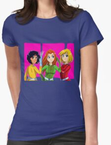 Totally Spies Womens Fitted T-Shirt