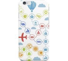 Business the plane iPhone Case/Skin