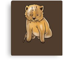 Cute Lion Design Canvas Print