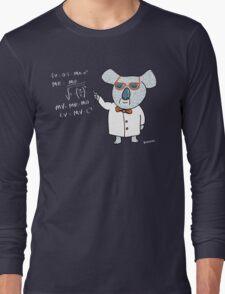 Koala Nerd Long Sleeve T-Shirt