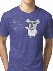 Koala Nerd Tri-blend T-Shirt