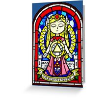 ZELDA MOSAIC COLLECTION (LIGHT FORCE) Greeting Card
