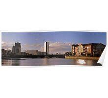 Panoramic Belfast Waterfront Poster