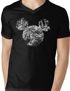 Kingdom Hearts King Mickey grunge Mens V-Neck T-Shirt