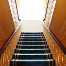 Staircase, Grand Hotel, Malahide by Ludwig Wagner