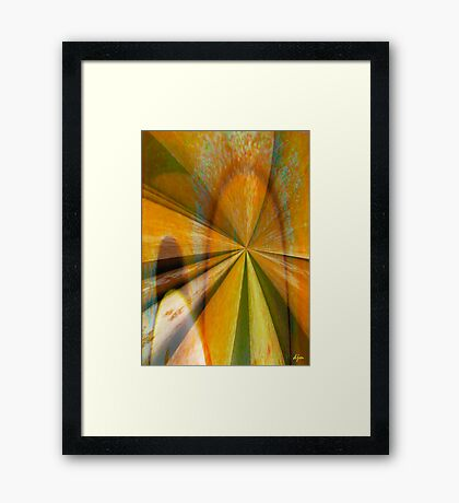The Other Door Framed Print
