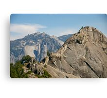 More Moro (Rock) - Taking the Summit Canvas Print
