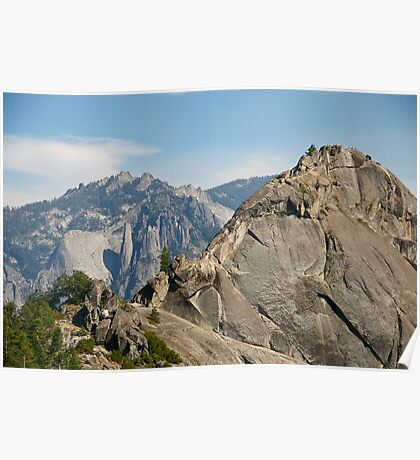 More Moro (Rock) - Taking the Summit Poster