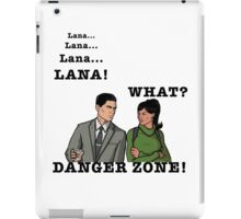 Lana The Danger Zone iPad Case/Skin