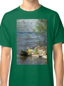 bottles damage river after flood Classic T-Shirt
