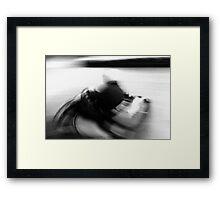quick get away Framed Print
