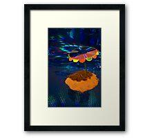 Laser Lagoon Framed Print