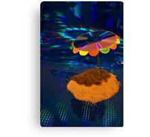 Laser Lagoon Canvas Print
