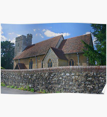 All Saints Church - West Farleigh Poster