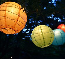 chinese lanterns by noellephoto