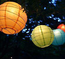 chinese lanterns by noellephoto