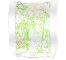 USGS Topo Map Oregon Flora 279898 1967 24000 Poster