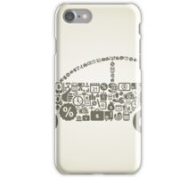 Car business iPhone Case/Skin