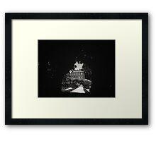 Wisteria Pinhole Framed Print