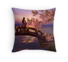 Cherry Blossom #1  桜 Throw Pillow