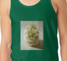 Many cereal sprouts growing Tank Top