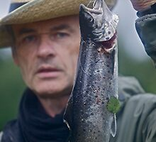 My first catch 19.08.2011 . Atlantic salmon . Byske River .  . Sweden. by Brown Sugar  as  a fisherman .Tight lines friends ! Greetings from  wonderful Scandinavia ! Yeahh ! Views (271) fav(3)thx!  by © Andrzej Goszcz,M.D. Ph.D