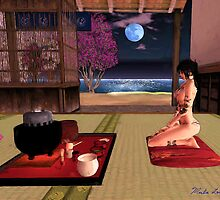 Tea House #5 茶室 by Marla Louise