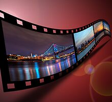 Philadelphia Filmstrip by Michael Mill