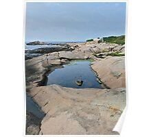 Shapes Along The Shore - Blackpoint  -Narragansett, RI Poster