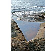 Shapes Along The Shore - Blackpoint  -Narragansett, RI  (b) Photographic Print