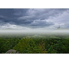 Storm at Lookout Rock  Photographic Print