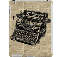 Vintage Typewritter Dictionary Art iPad Case/Skin