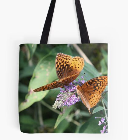 Two by Two - Great Spangled Frittilaries Tote Bag