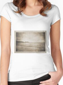 On A Distant Shore Women's Fitted Scoop T-Shirt