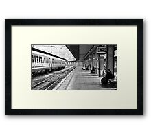 Palermo Train Station - Sicily Italy Framed Print