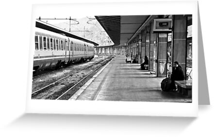 Palermo Train Station - Sicily Italy by Paul Louis Villani