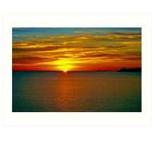 Sunrise at Matane Art Print