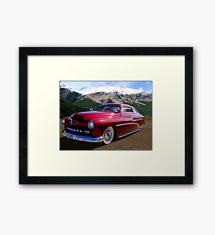 1950 Mercury Low Rider Framed Print