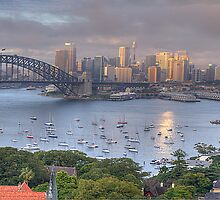 It's All Colour and Colour - Sydney Harbour (20 Exposure HDR Panoramic) - The HDR Experience by Philip Johnson