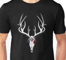 LARP Deer Skull Clan Motif Unisex T-Shirt