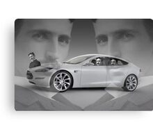 Tesla Canvas Print