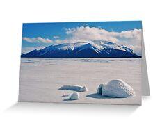 Atlin Lake - BC (Canada) Greeting Card
