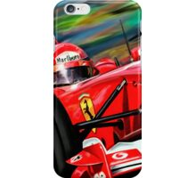 Michael Schumacher Ferrari iPhone Case/Skin